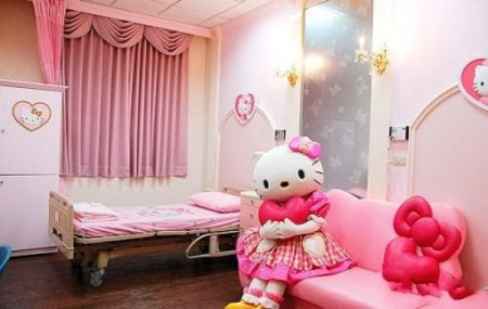 Роддом Hello Kitty (10 фото + 2 видео)